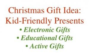 Christmas Gift Idea Kid